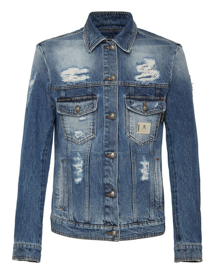 Denim Jacket Statement