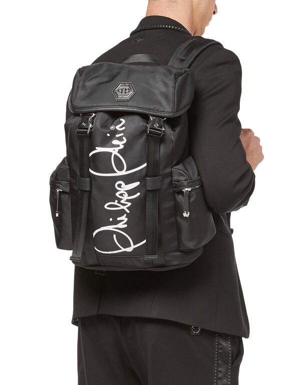 "Backpack ""Paris roads"""