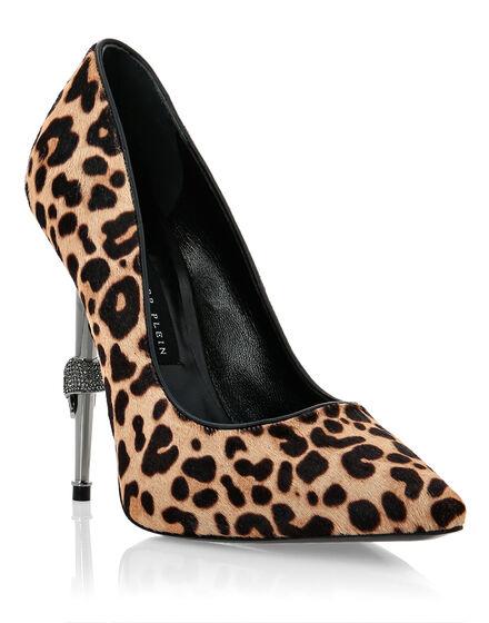 Decollete Hi-Heels Leopard