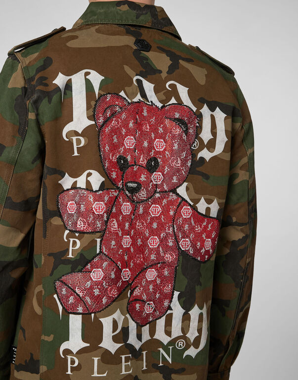 Parka Monogram Teddy Bear