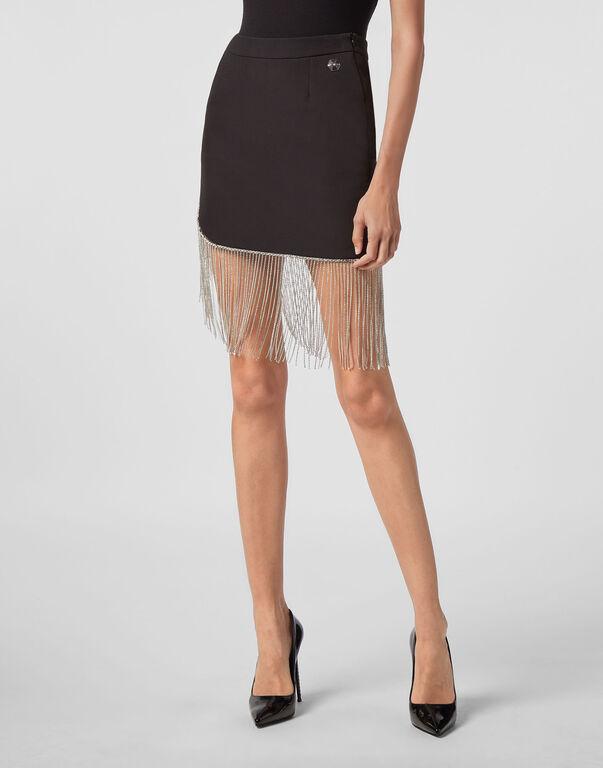 Short Skirt Fringe