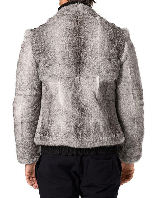 "fur jacket ""rome"""