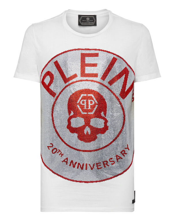 T-shirt Platinum Cut Round Neck Anniversary 20th