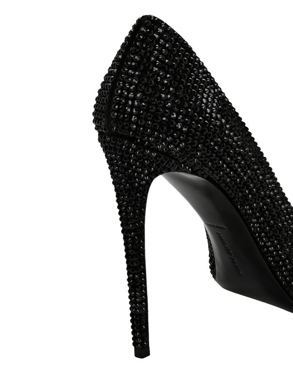 Decollete Hi-Heels Skull crystal