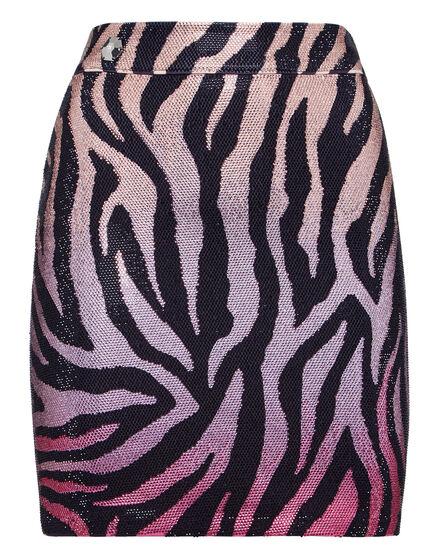 Short Skirt Zebra