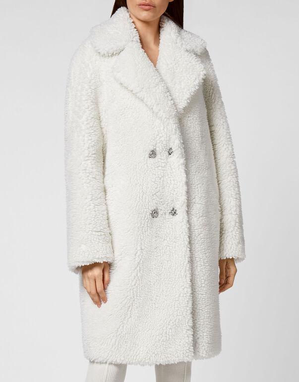 Coat Long Iconic Plein