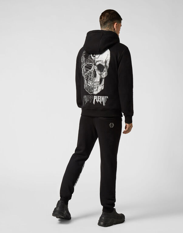 Hoodie Sweatjacket Skull