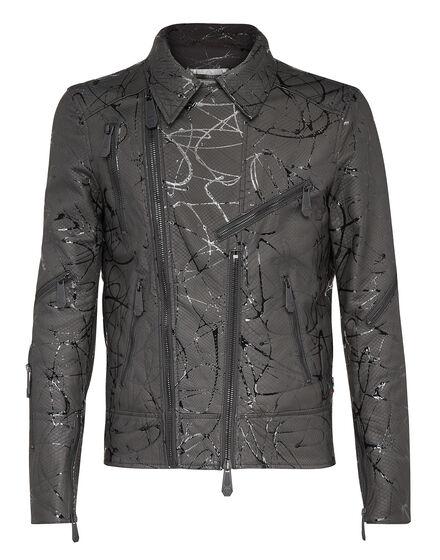 Leather Biker Strange