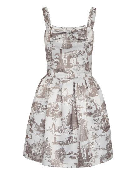 Cady Short Dress En PLEIN air
