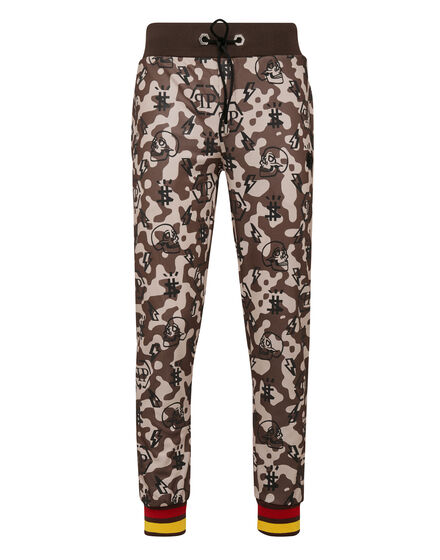 Jogging Trousers Camouflage Monogram