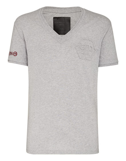 T-shirt V-Neck SS Statement
