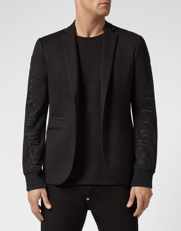 Blazer embroidered Gothic Plein