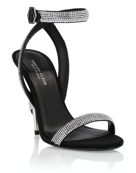 Sandals High Heels Crystal