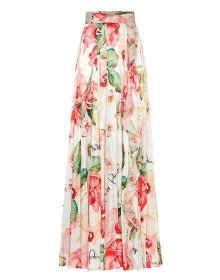 Long Skirt Pink paradise