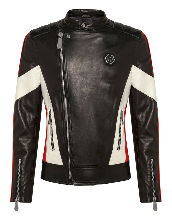Leather Biker P.L.N.