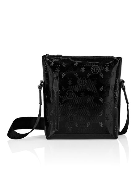Cross body in Camou pvc Monogram
