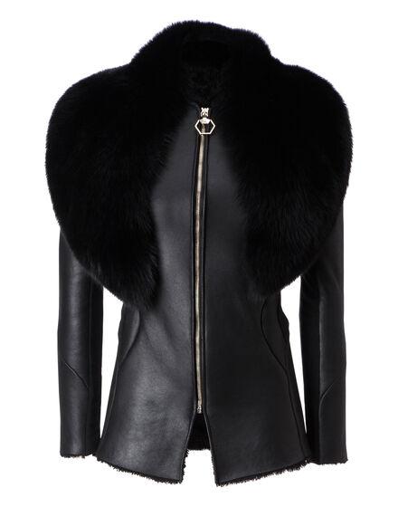 Fur Jacket Times Sqaure