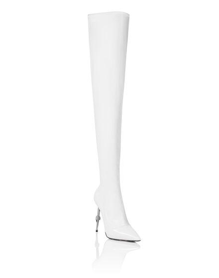 Naplak Boots Hi-Heels Overknees Iconic Plein