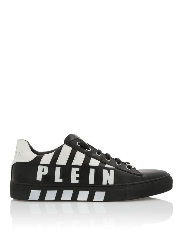 "Lo-Top Sneakers ""Striped Plein"""