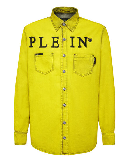 Denim Shirt Ls Colorful Iconic Plein