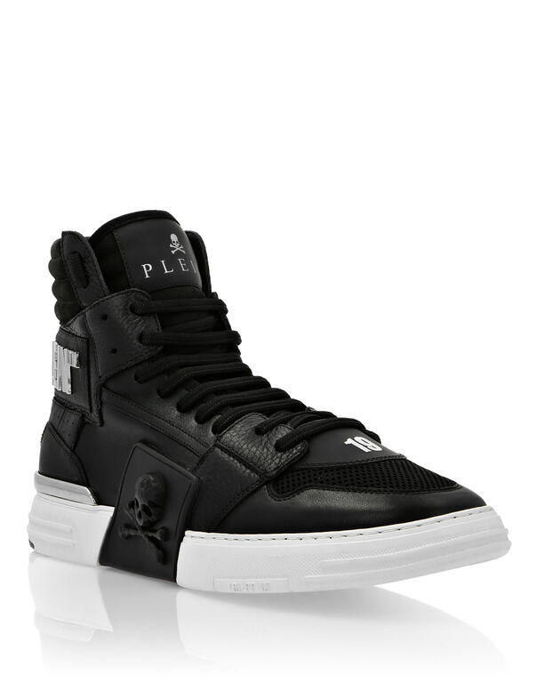 PHANTOM KICK$ Hi-Top Leather Mix