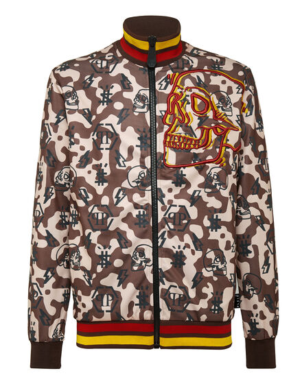 Jogging Jacket Camouflage Monogram