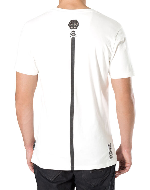 "T-shirt Round Neck SS ""pat"""