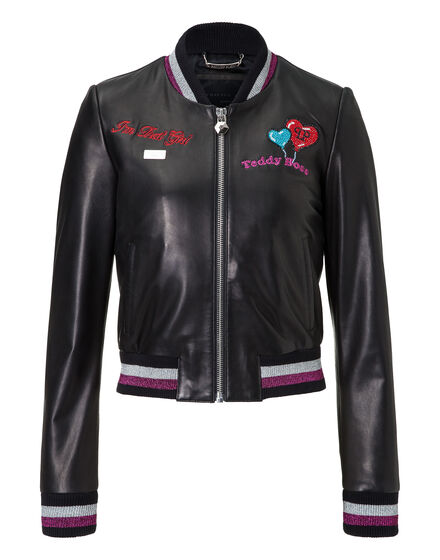 Leather Bomber Eagle Pass