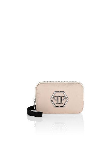 Nylon Shoulder Bag Iconic Plein