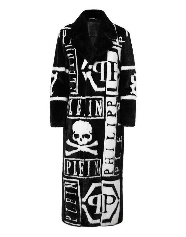 """Fur Coat Long """"Show coat"""""""