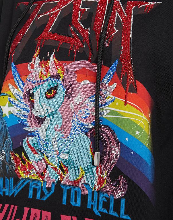 Hoodie sweatshirt Unicorn