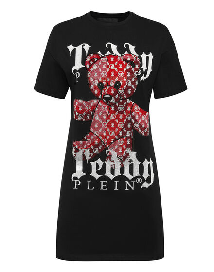 T-Shirt Short Dresses Monogram Teddy Bear
