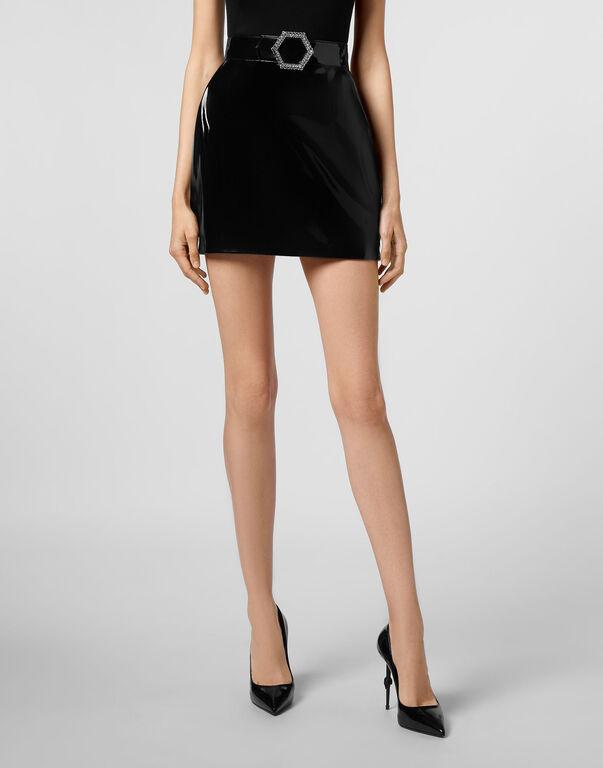 Short Skirt Killer  Latex