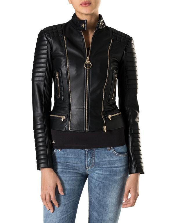 "Leather Biker ""High Line"""