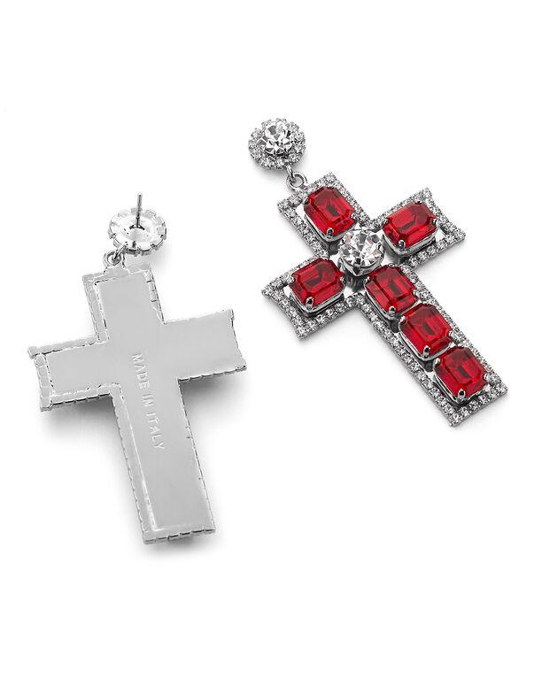 Earrings Baroque cross