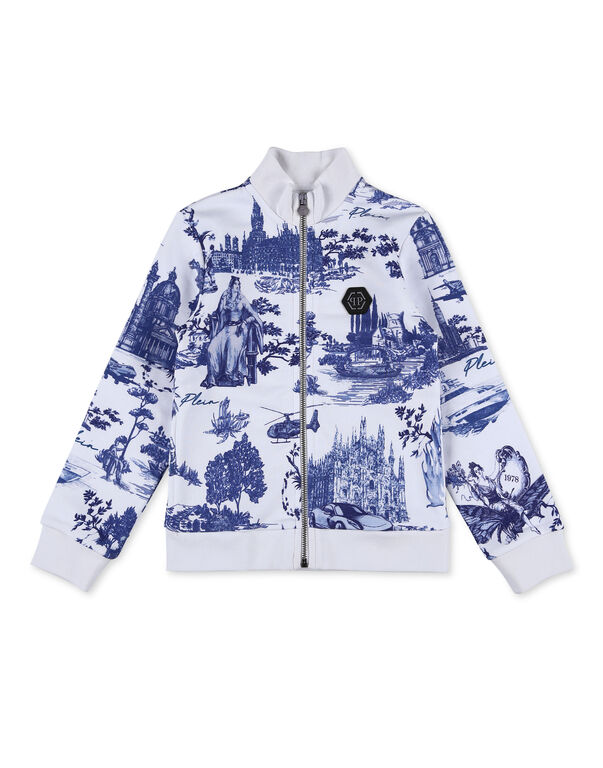 Jogging Jacket  Crystal Chain En PLEIN air