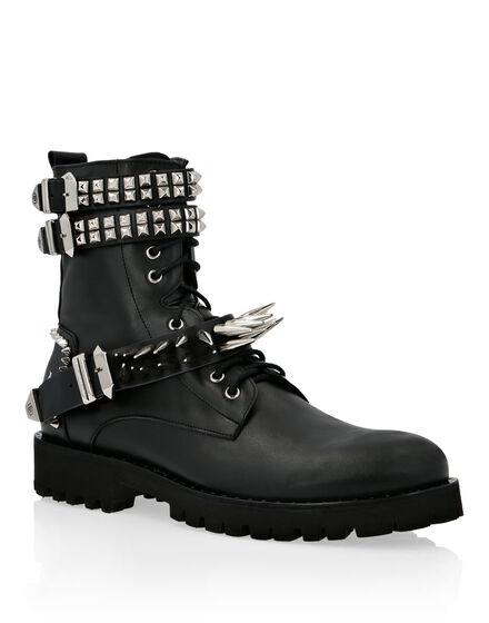 Boots Mid Flat