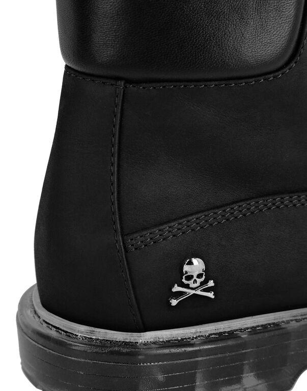 Nabuk Boots Low Flat The Hunter