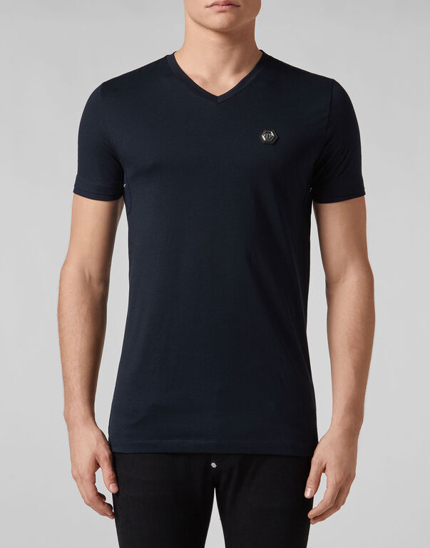 T-shirt Platinum Cut V-Neck Statement