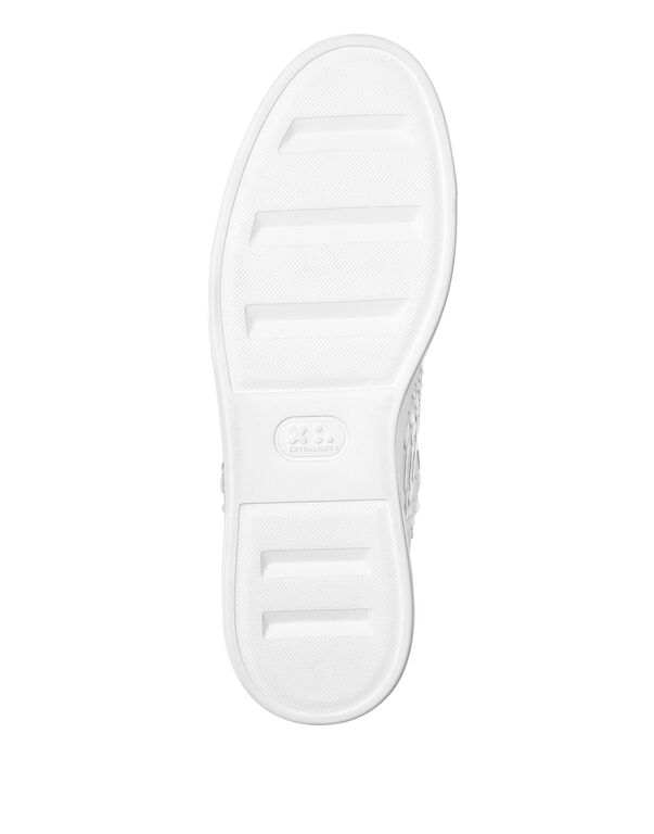 Python Lo-Top Sneakers Silver $urfer