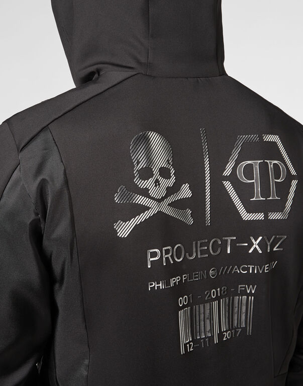 Nylon Jacket XYZ Logos