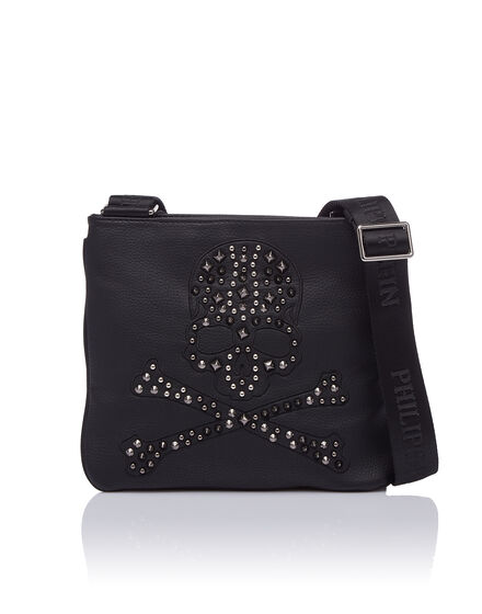 Cross body Skull diamond