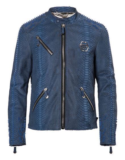 Leather Moto Jacket Metro
