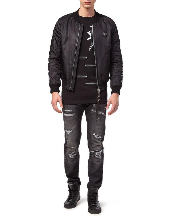 "Nylon Jacket ""Gothic Plein"""