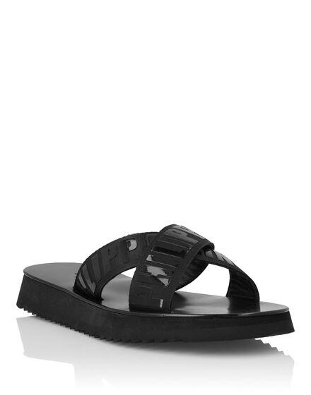 Sandals Flat Philipp Plein TM
