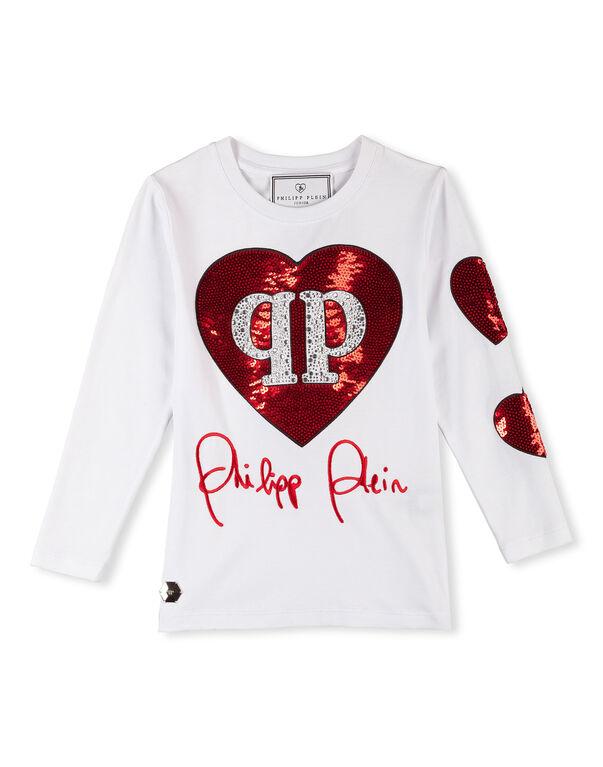 """T-shirt Round Neck LS """"Fabienne"""""""