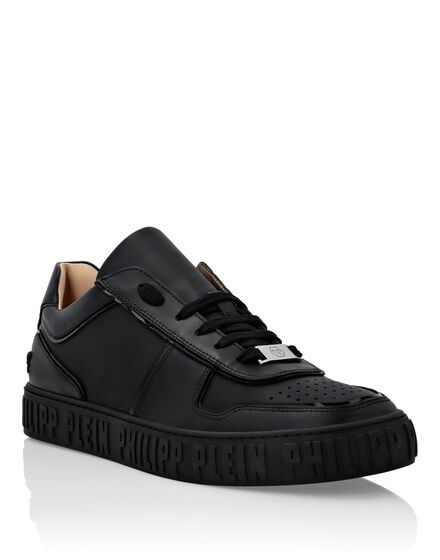 Lo-Top Sneakers mix leathers King Power
