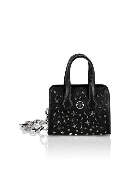Leather Handle bag studs Stars