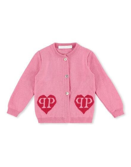 Knit Jacket Love Plein