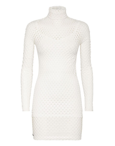Short Dress Seamless Mesh